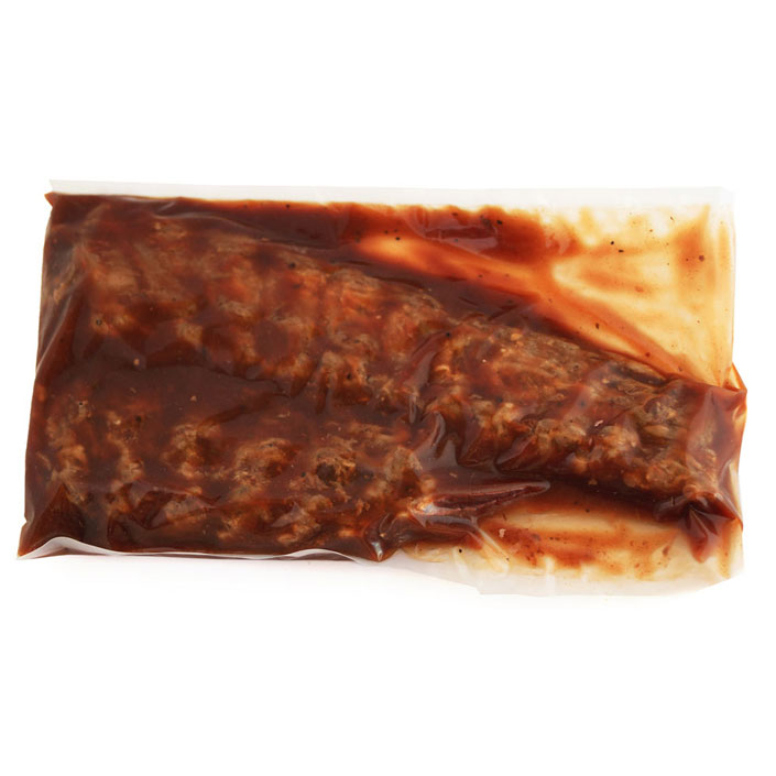 Spare Ribs (per 1 kg pack) - pre-cooked and vacuum packed in Spare Rib marinade