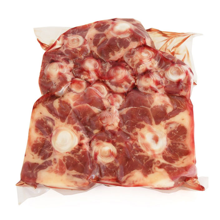 Oxtail (trimmed of excess fat) - packed in 1kg vacuum packs