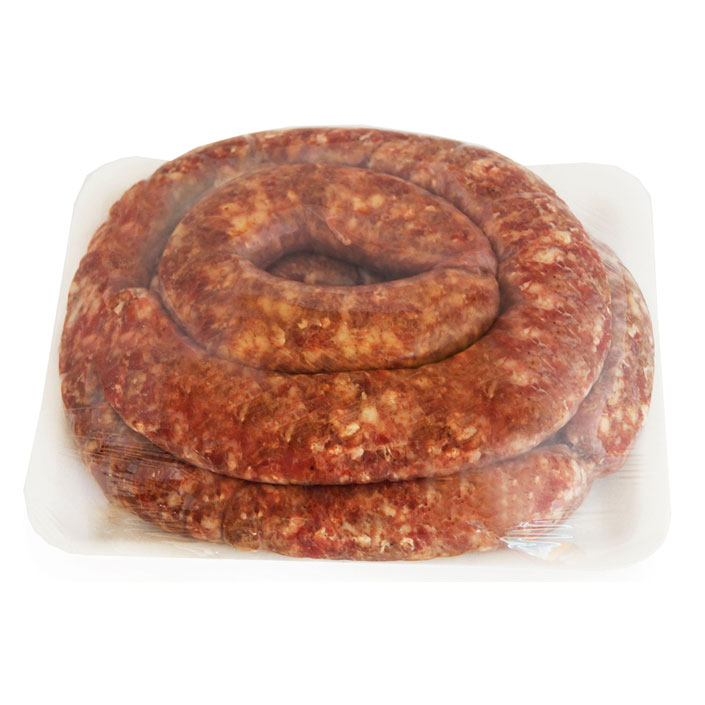 Boerewors (per 1kg) - Farm-style coriander flavour - best in town!